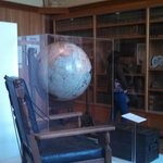 Sam hills items. globe from 1920s