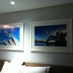 Sydney artwork in room