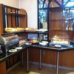 Il buffet a colazione