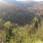 ラジョーロ村から見える景色