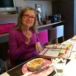 Patricia dans son Atelier #cuisiner # Versailled