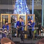 Evening band at the Radisson Blu