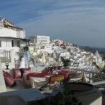 View to Fira from Upper Deck