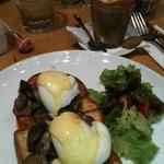 Breakfast menu from Hummingbird Eatery