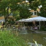 Biergarten Philips Brasserie ein traumhafter Ort der Entspannung