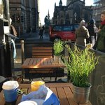 Royal mile coffee break