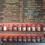 For coffee lovers, try RB's cafe. Affordable price for a wide variety of beans!