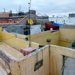 Life of the medina from the rooftop terrace