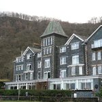 The beautiful Lodore Falls Hotel