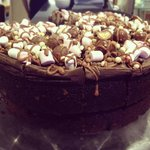 Cake of the day - Rocky road fudge cake