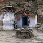 Nanda Devi Tepmle, Lata Village