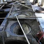 Vasche della distilleria del Rum