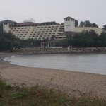 Hotel from Hac Sa Beach.