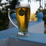 birra in giardino