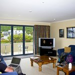 Living room/lounge with Sky TV
