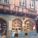 The gingerbread shoppe in Colmar