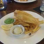Excellent locally-caught fish, very well presented.