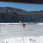 Ice Rink at Whiteface Lodge