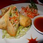 the best spring rolls in Bali
