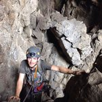 Ausstieg bei der Höhle