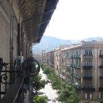 Looking up Via Roma