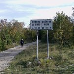 a piedi sino in slovenia