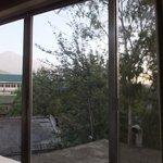メルー山が見えます