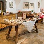 Frühstück in der Schlossküche