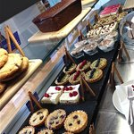 Wonderful selection of patisserie