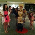 Jenga Champs of Postcard Inn 4/2014