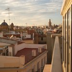 Catedral apartments- view from terrace