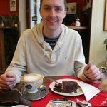 Incredible chocolate cheesecake
