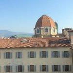 San Lorenzo, vue depuis notre chambre