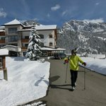 50 m bis zum Skianschnallen