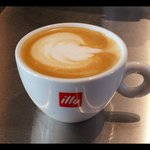 best 'illy' coffee and cappuccino