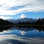 Lake Matheson is 10 minutes away.. I got lucky with the weather!