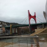 Bilbao on a rainy day