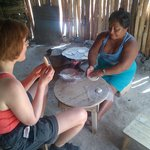 Tortilla making with local neighbour