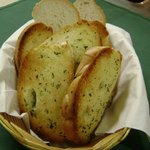 Our garlic bread