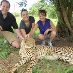 So glad we added a 4th day onto our 3-day package - the Cheetah Park (and other cats).