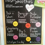Fresh Smoothies 2.5 of your 5 a day