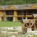 Lodges exterior