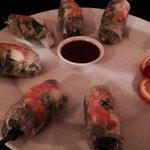 The fresh rolls