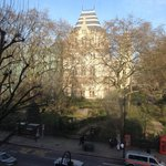 Vista del museo dalla stanza (3' piano)