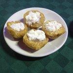 stuffed platanos - very tasty!