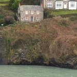 View of Doc Martin's cottage from the Latin room.