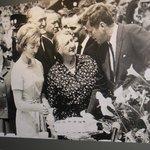 JFK meets his Ryan Cousins at Dunganstown, June 1963
