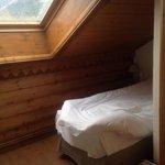 Спальня на последнем этаже