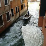 From the balcony towards the main canal...