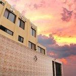 Frontis Hotel Volvic